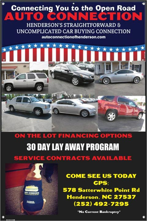 Buy Here Pay Here Car Lots In Greensboro Nc >> Auto Connection Of Henderson Buy Here Pay Here Used Car Dealership